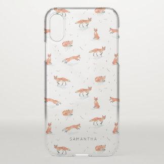 Winter Fox iPhone X Case