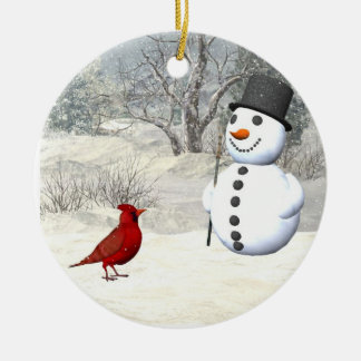 Winter friends Christmas Ornament