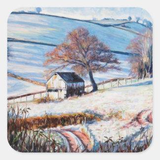 Winter Frost 2009 Square Sticker
