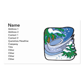 Winter Frost Double-Sided Standard Business Cards (Pack Of 100)