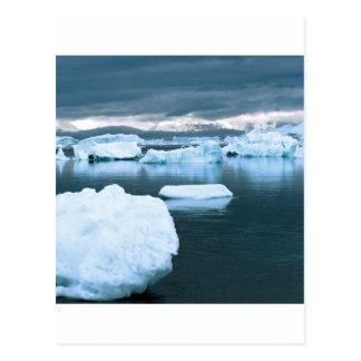 Winter Frozen Antarctica Post Cards