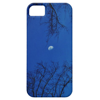 Winter Full Moon With Trees iPhone 5 Cases