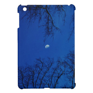 Winter Full Moon With Trees iPad Mini Covers