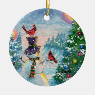 Winter Fun Holiday Ornament