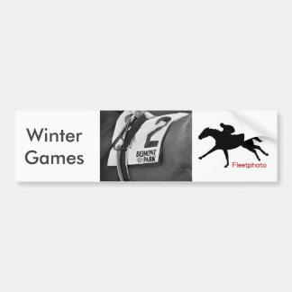 Winter Games Bumper Sticker