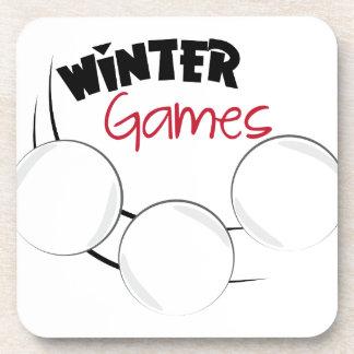 Winter Games Coasters