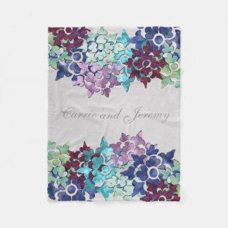 Winter Garden Fleece Blanket