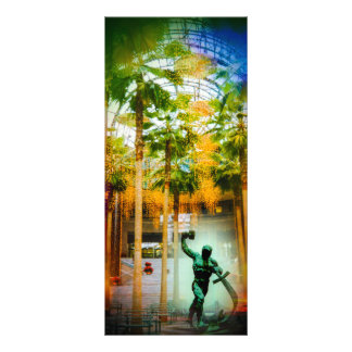 Winter garden in the WTC Personalised Rack Card