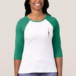 WINTER GIRAFFE & BIRD T-Shirt