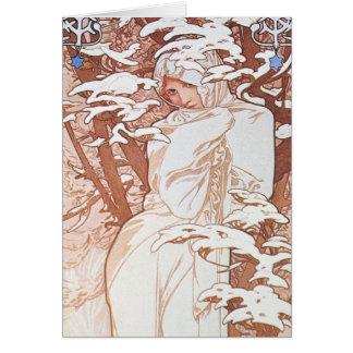 Winter Goddess Card