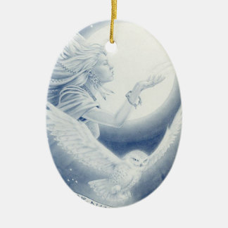 Winter_Goddess Christmas Ornament