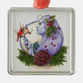 Winter Goddess Christmas Ornament