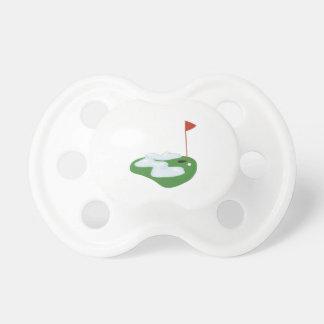 Winter Golf BooginHead Pacifier