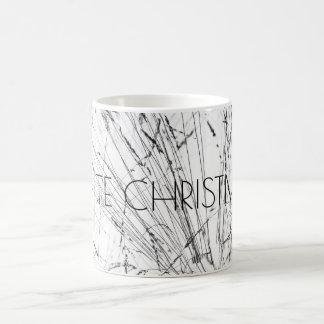 Winter Grass In Snow Coffee Mug