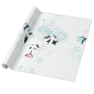 Winter Great Dane Wrapping Paper