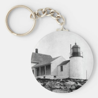 Winter Harbor Lighthouse Keychains