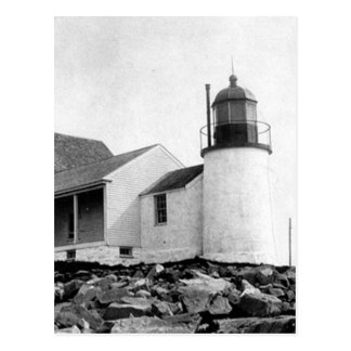 Winter Harbor Lighthouse Postcard