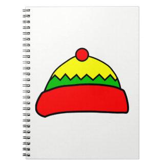Winter Hat Spiral Notebook