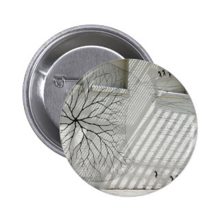 Winter Haven Abstract 6 Cm Round Badge