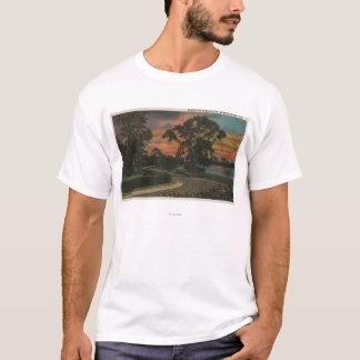 Winter Haven, Florida - Sunset View of Lake T-Shirt