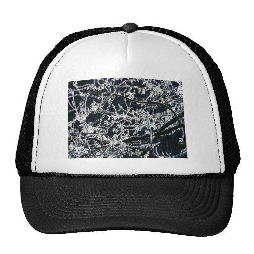 Winter Hoarfrost Mesh Hat