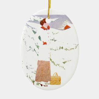 Winter Holiday Christmas Ornament