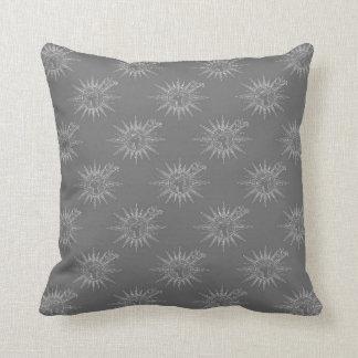 Winter Holiday Reindeer Chevron Pattern Art Design Cushion
