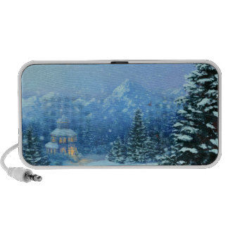 Winter Holiday iPod Speakers