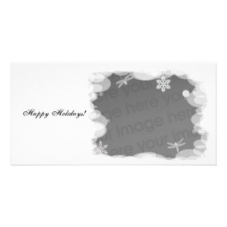 Winter Holiday Template Photo Card Template