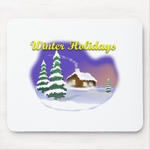 Winter Holidays Mousepad