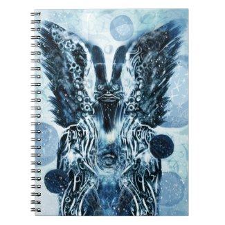 Winter Hoodoo Hare Notebook