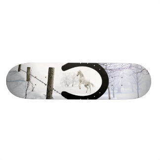 Winter Horse 20.6 Cm Skateboard Deck