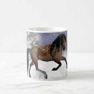 Winter Horse Equine Fantasy Art Mug