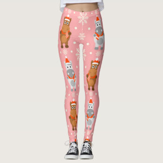 Winter Horses Leggings