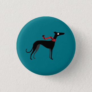 Winter Hound 3 Cm Round Badge