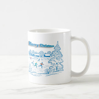 Winter Ice Skating Coffee Mug