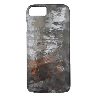 Winter Ice Storm Abstract Art iPhone 8/7 Case