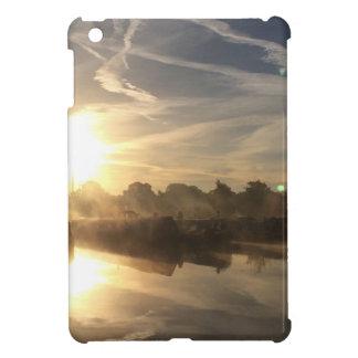 Winter in a marina - Canal life. iPad Mini Cases