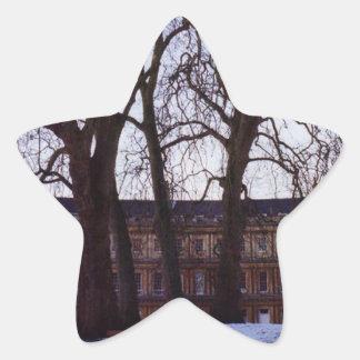 Winter in Bath Star Sticker