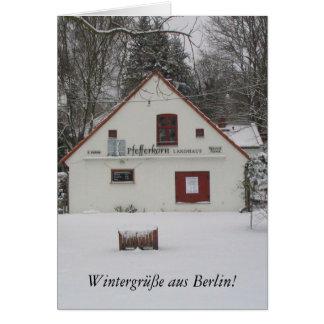 Winter in Berlin Card