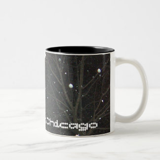 Winter in Chicago Two-Tone Coffee Mug