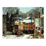Winter in Gloucester Postcard