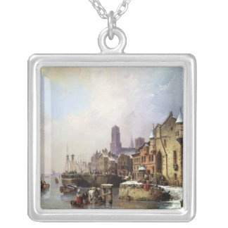 Winter in Konigsberg Silver Plated Necklace