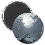 Winter In Maine Fridge Magnets