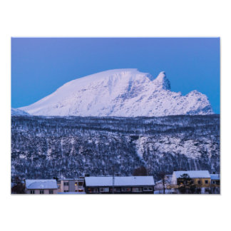 Winter in Narvik Norway Photo Print
