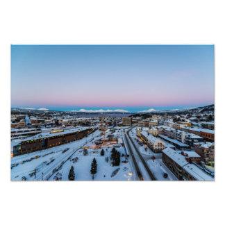 Winter in Narvik Photo Print
