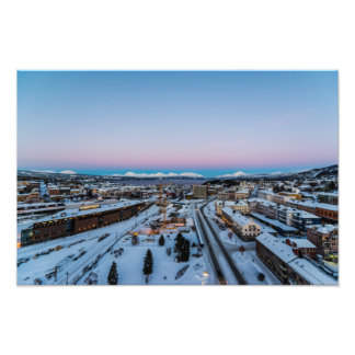 Winter in Narvik Photo Print