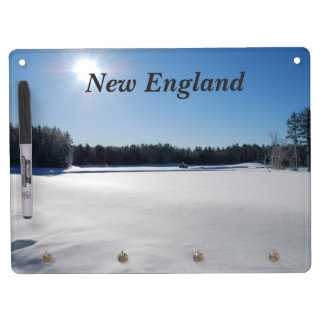 Winter in New England Dry Erase Board