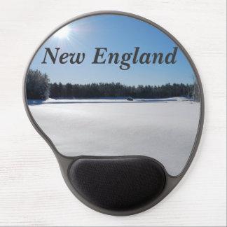 Winter in New England Gel Mousepad