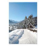 Winter in St. Moritz Photo Art